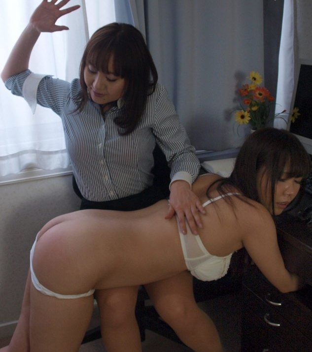 Asian girls spanking