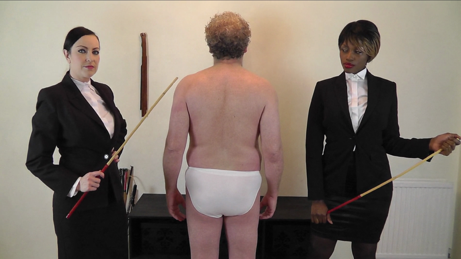 spanked women