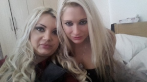 Paige and Kaz B