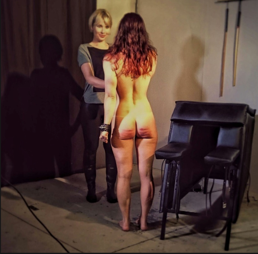 Caning naked women, mini lingerie sex