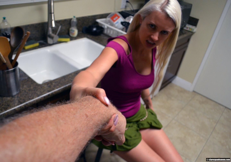 women who spank men